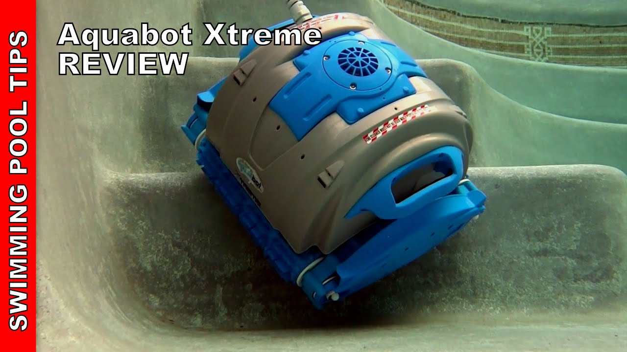 Aquabot xtreme robotic cleaner review youtube for Automatic pool cleaner reviews 2014