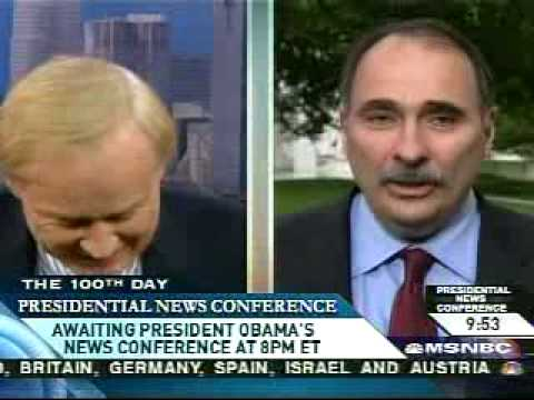 Chris Matthews interviews Obama's Political Advisor David Axelrod [1/2]