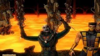 Mortal Kombat 4 Scorpion Gameplay Playthrough Longplay