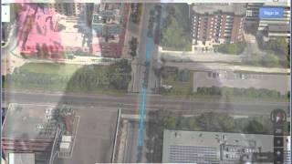 Bike route mapping basics using Google Maps Free HD Video