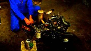 Mise en route moteur Yanmar 3T72 07 05 2014