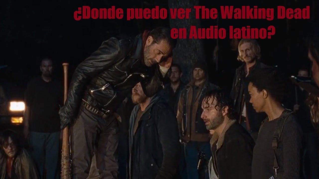 Donde puedo ver The Walking Dead en audio latino español todas las ...