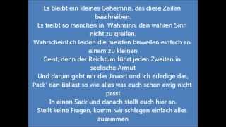 Die Fantastischen Vier-Kaputt Official Lyric Video