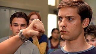 Смотри описание! Питер Паркер против Флэша Томпсона. Школьная драка. Человек-паук 2002.