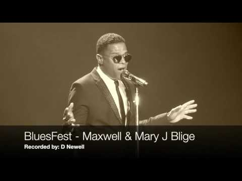 Bluesfest 2016 - Maxwell & Mary J Blige at the London O2 Arena