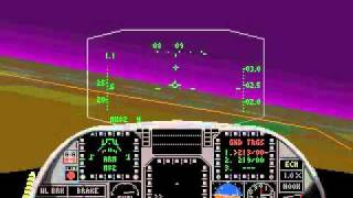 [PC DOS] Jetfighter 2 - Operation Gopher