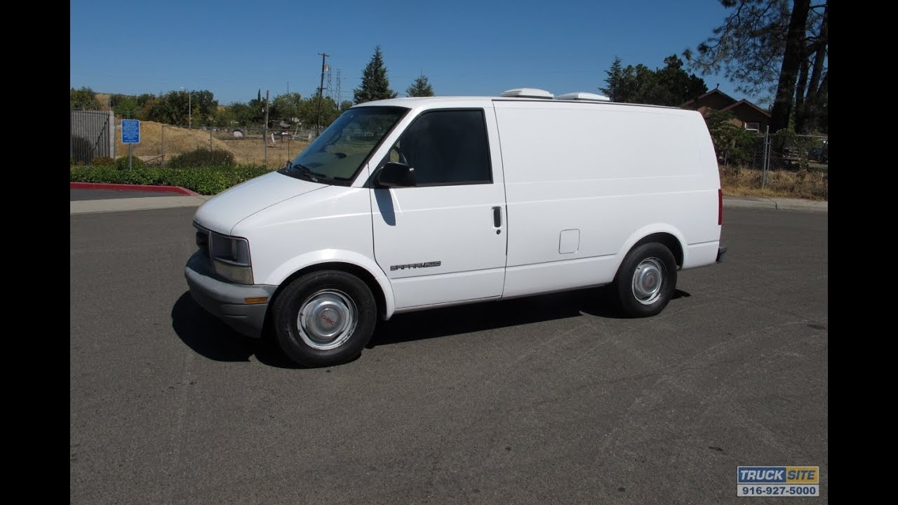 1997 gmc safari awd surveillance spy van for sale by truck site