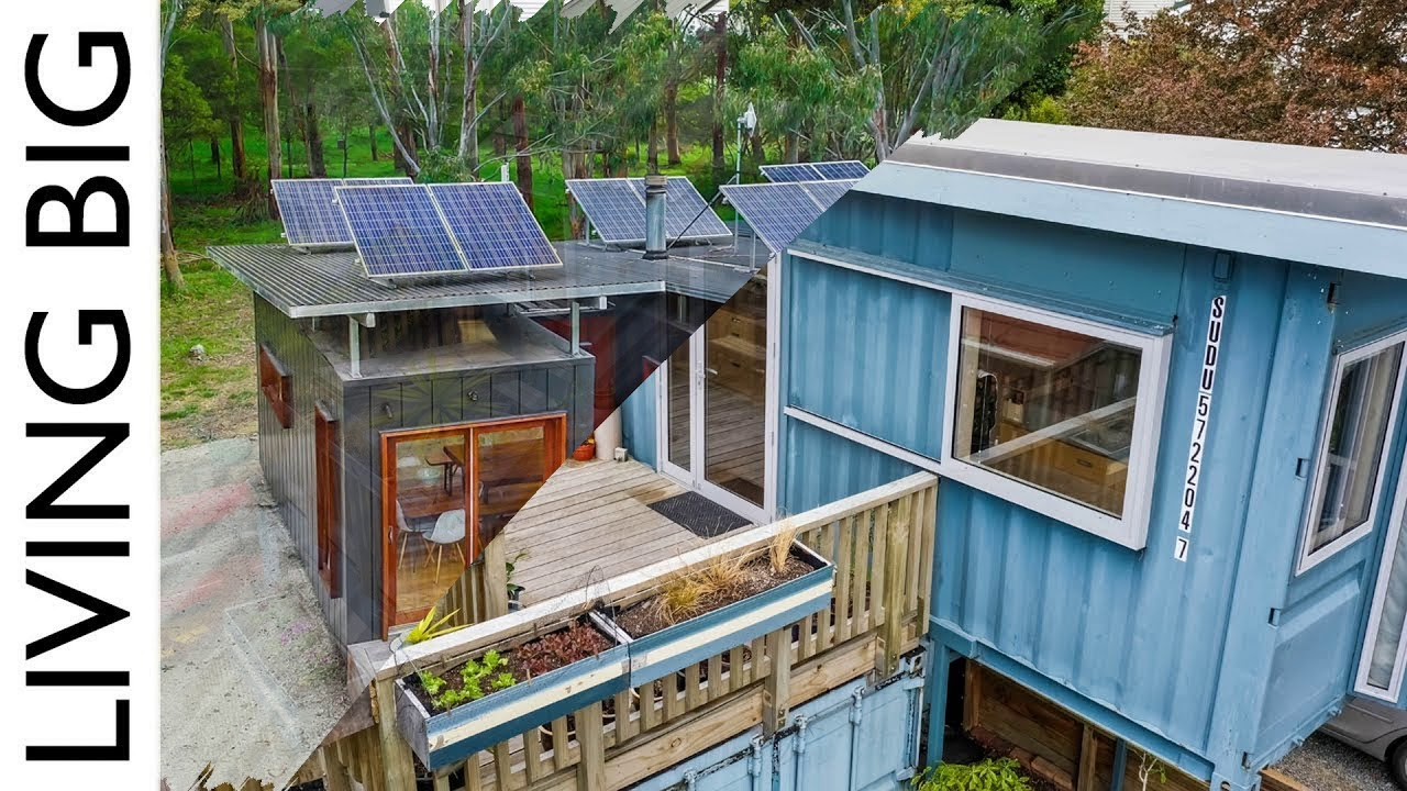Download shipping container homes living big - amazing 20ft shipping container home - the pod-tainer