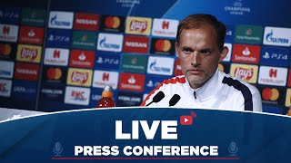Conférence de presse de Thomas Tuchel et Marco Verratti avant Paris Saint-Germain  Real Madrid