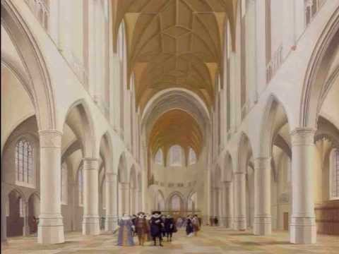 Saenredam (1597 1665) Church Interiors Paintings