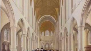 Pieter Jansz. Saenredam (1597-1665)  Church Interiors Paintings