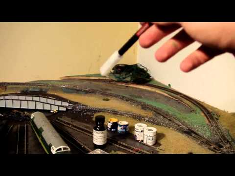 Building an OO Gauge Model Railway layout Update