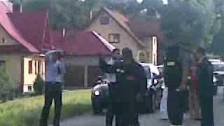 Brama strazacka OSP TOPORZYSKO