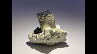 Pyrite on Matrix Mineral Specimen, Crystals and Mineral Rocks from Ampliación a Victoria Mine, Spain
