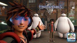 Kingdom Hearts 3 Exploring The Streets Of San Fransokyo At Night Xbox One Gameplay