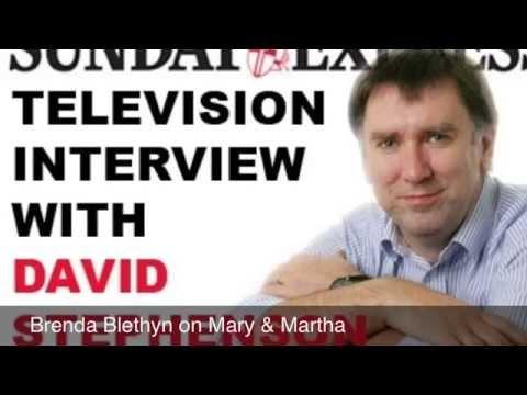 Brenda Blethyn interview Mary & Martha