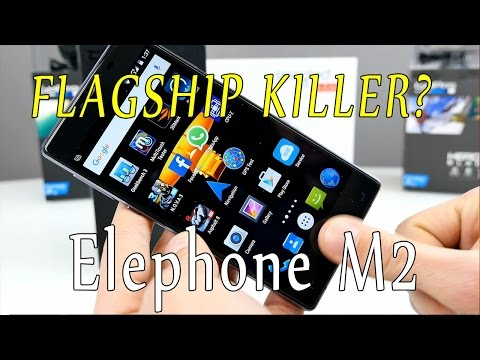 Elephone M2 - is this the biggest, best and most awesome china phone ? a real flagship killer? [4K]