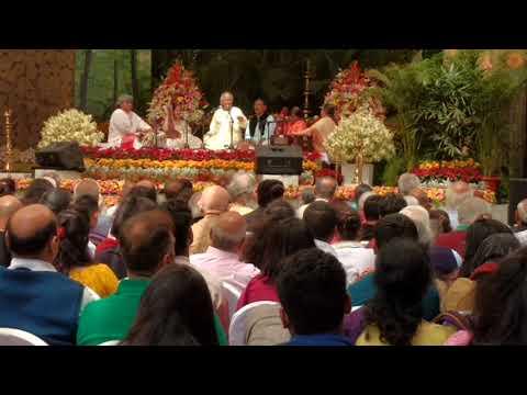 Pandit Jasraj | Raag Hori Sarang | Haveli Sangeet| At Shriram Shankarlal Music Festival . Part 1