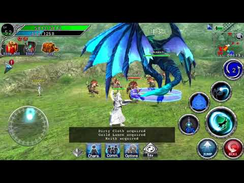 Avabel Online - Summoner Advanced Class Exester! (Summoning Bahamut - Dragon)