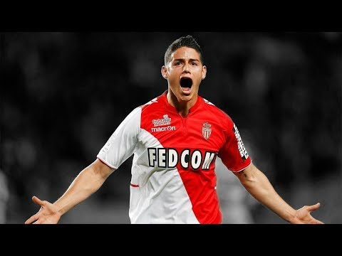 James Rodríguez First and Last Goals for Monaco