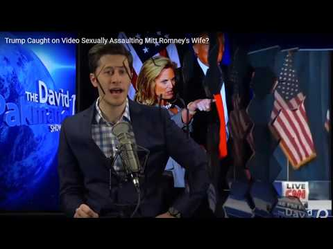 David Pakman Wonders If Donald Trump Groped Mitt Romney's Wife's; Goes With Dem Talking Point