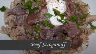 Classic Beef Stroganoff Recipe Made Lighter