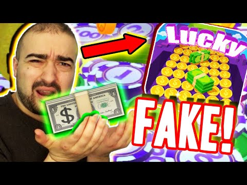 Lucky Pusher App Payment Proof Fake Earn Cash Real Money Rewards Paypal Review Youtube Youtube
