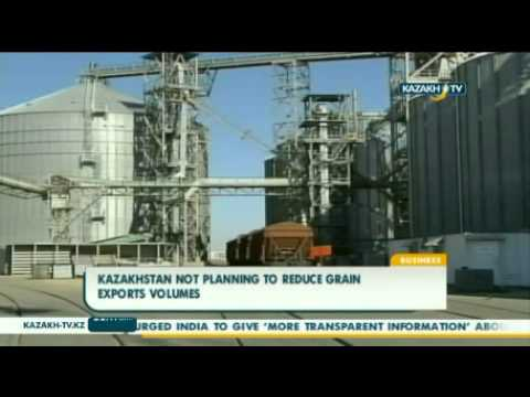 Kazakhstan not planning to reduce grain exports volumes