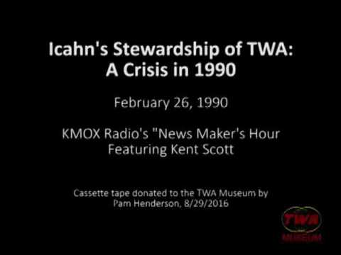 Icahn's Stewardship of TWA:   A Crisis in 1990