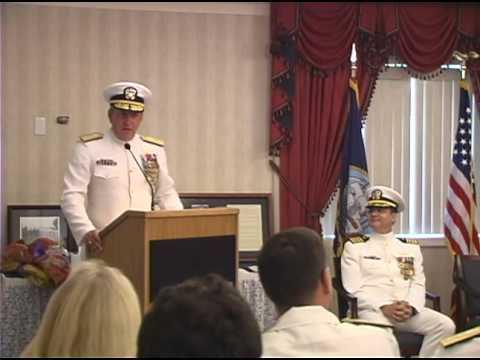 Captain Bill Toti, USN  Retirement Ceremony