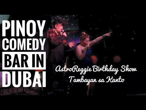 FILIPINO COMEDY BAR IN DUBAI (Tambayan sa Kanto Bar)