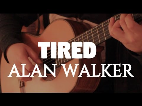 "Alan Walker ft. Gavin James ""Tired"" on Fingerstyle by Fabio Lima"