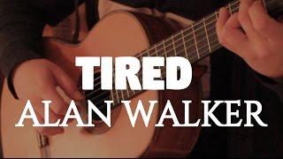 "Download Lagu Alan Walker ft. Gavin James ""Tired"" on Fingerstyle by Fabio Lima Mp3"