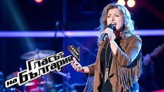 Вера Бурмова – Lost on You – Гласът на България 5 – Кастинги на тъмно (11.03.2018)