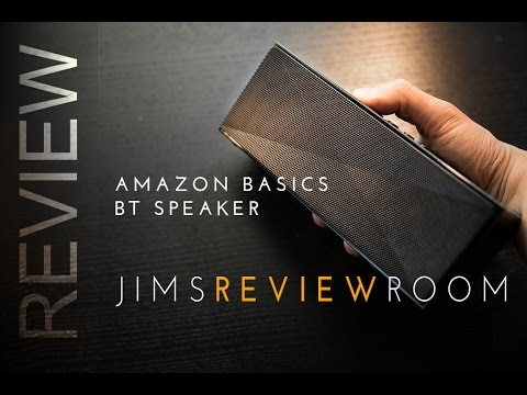 Amazon Basics $40 BUDGET Bluetooth Speaker - REVIEW