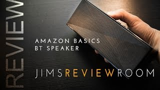 Amazon Basics $40 BUDGET Bluetooth Speaker – REVIEW