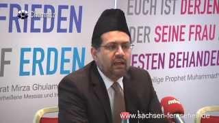 Sachsen-Fernsehen: Ahmadiyya Muslims for Peace Germany