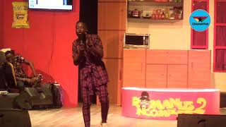 Foster Romanus stuns at 'Romanus Incomplete 2' with witty jokes