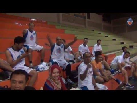 Maen Basket - Latihan bareng Tim Bank Mandiri Region 7