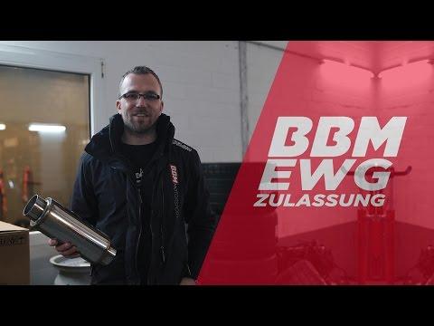 Muss das so laut tun?! EWG Genehmigung & TÜV Abnahme by BBM