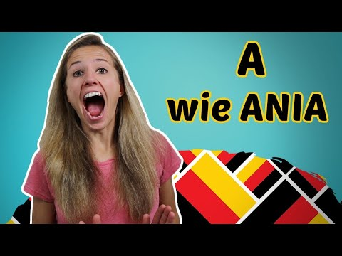 GERMAN PRONUNCIATION 1: The German Alphabet 🔠🔠🔠