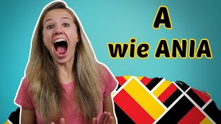 german pronunciation 1 the german alphabet