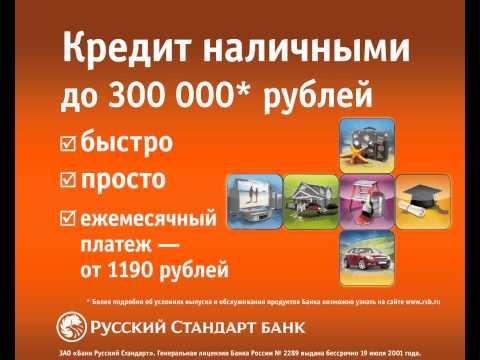 """Ролик для терминалов Евросети """"Кредит наличными"""""""