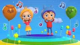Сина и Ло: части тела. Развивающие мультики - песенки для детей.