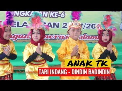 Tari Indang - Dindin Badindin - Anak TK Lucu Lucu - Lagu Minang Ria Daerah Sumatera Barat Tiar Ramon