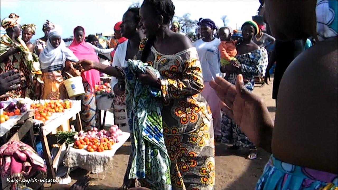The Gambia: Tanji Fishmarket & Serrekunda Market - YouTube