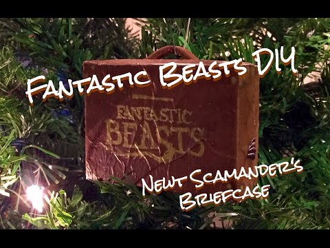 DIY Fantastic Beasts Ornament : Newt Scamander's Briefcase : Fantastic Beasts and Where to Find Them