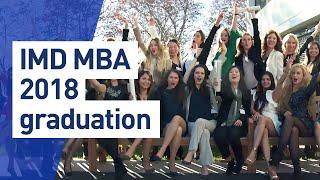 IMD MBA Graduation Ceremony - Class of 2018