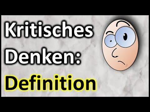 🧠 Kritisches Denken: Definition #01