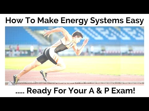 How To Make Energy Systems Easy - Ready for your A & P Exam